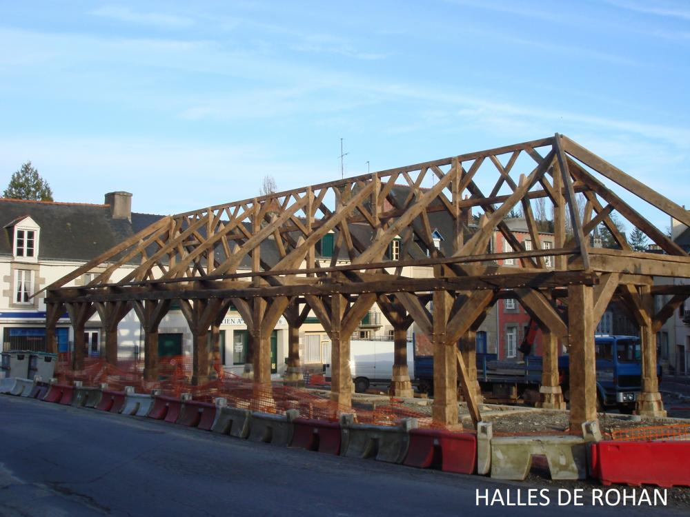 Restauration de charpente
